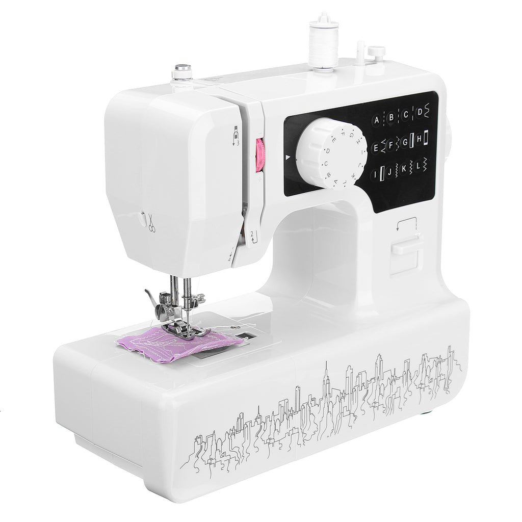 12W Professional Electric Sewing Machine USB Household Heavy Duty