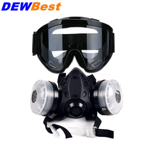 cozyrex,DEWBest 9578 Anti - Whitening Half Mask Anti With HS699 Impact Goggles Set,CozyRex,