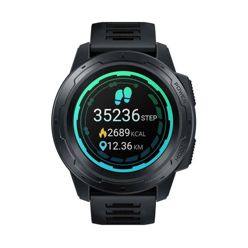 cozyrex,Zeblaze VIBE 5 PRO 1.3inch Full-round Touch Screen Heart Rate Monitor Sport Data Tracker Brightness Adjust Smart Watch,CozyRex,
