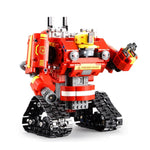 cozyrex,DOUBLE E CaDA C51048W DIY 2.4G 2 In 1 Block Building Flexible Joint RC Tank Truck Robot Assembled Toy,CozyRex,
