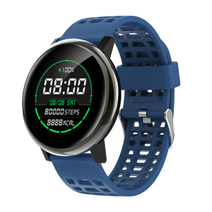 cozyrex,Bakeey G30 24h Heart Rate Blood Pressure O2 Monitor 1.3inch IPS Full-touch Screen bluetooth Music Weather Push Smart Watch,CozyRex,