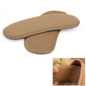 cozyrex,1 Pair Sticky Fabric Shoe Pads Cushion Liner Grips Back Heel Inserts Insoles,CozyRex,