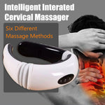 Hot Electric Cervical Neck Massager - Magnetic Therapy Body Shoulder Relax Massage