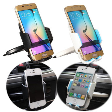 cozyrex,55-85mm Univeral Car CD Slot Dash Mount Holder Cradle Dock for Smartphone,CozyRex,Car Cradles & Mounts