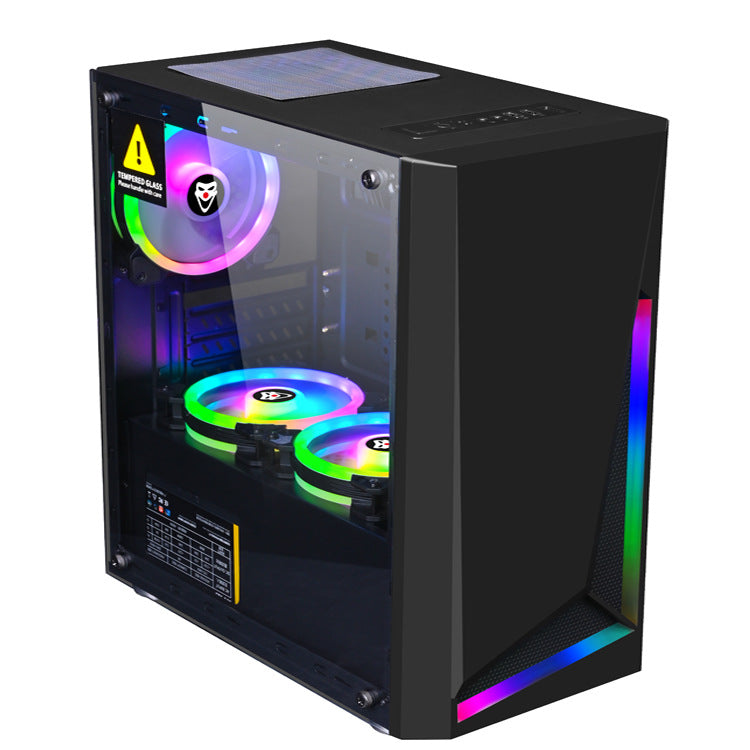 cozyrex,Dream Computer Gaming Chassis RGB Computer Case Micro ATX ATX Mini-ITX PC Case Desktop Chassis USB 3.0,CozyRex,