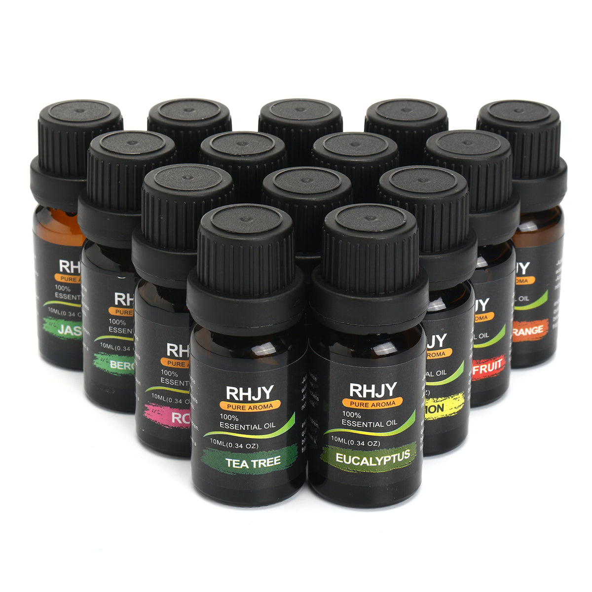 RHJY 14pcs 100% Pure Natural Aromatherapy Essential Oil