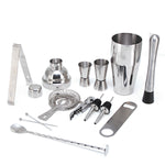 13Pcs 750ML Stainless Steel Cocktail Mixer Drink Shaker
