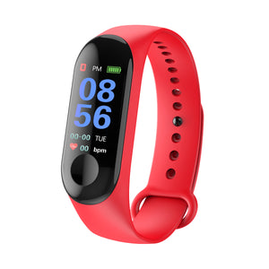 cozyrex,M3 Color Screen Smart Watch Heart Rate and Blood Pressure Monitor Smart Bracelet,CozyRex,