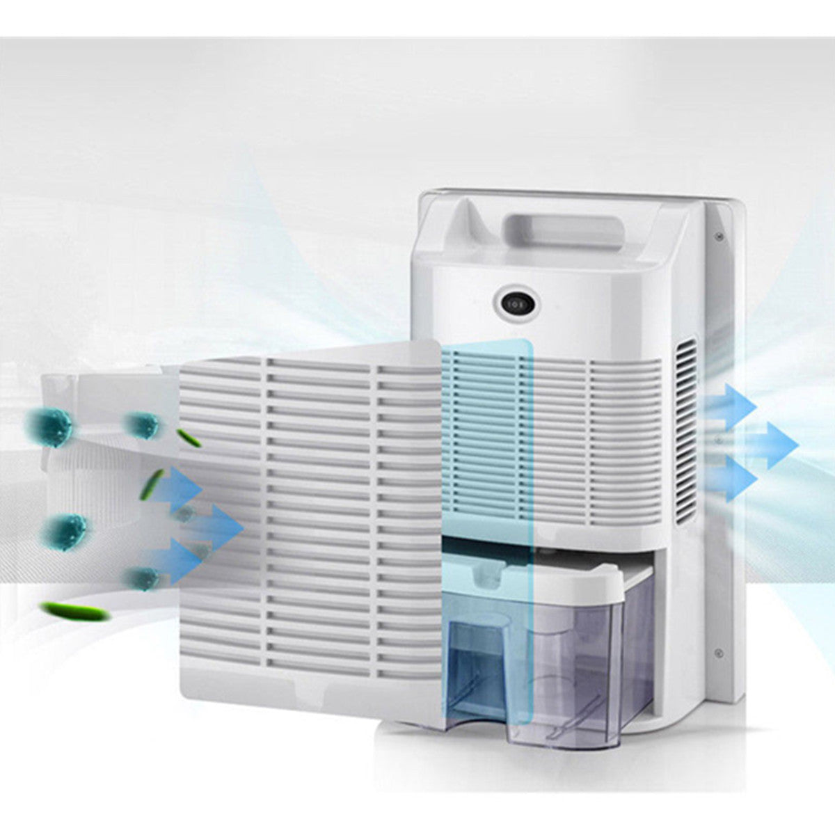 cozyrex,Portable Home Dehumidifier Mute - Bedroom Air Purifier Mini Moisture - Absorption Dryer,CozyRex,