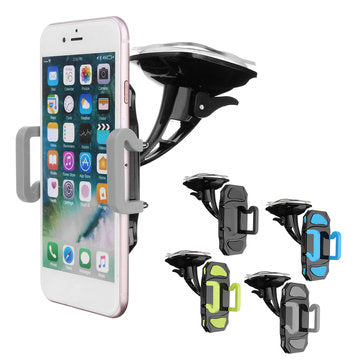 cozyrex,Universal Clamping Car Windshield Phone Holder Bracket,CozyRex,Car Cradles & Mounts