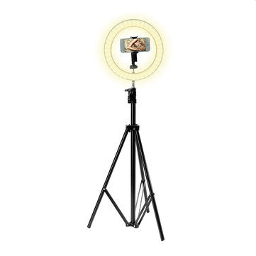 cozyrex,Portable Ring Light Tripod Stand Live Selfie Stick Holder USB Jack With Fill Light for Mobile Phones,CozyRex,Selfie Sticks & Tripods