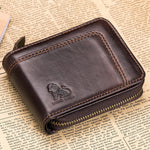 cozyrex,13 Card Slots RFID Blocking Secure Leather Wallet,CozyRex,