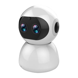 Bakeey 12MP Dual 1080P Lens  FHD 8x Zoom 360° PTZ Smart Home IP Camera AI Movement Detection TF Card & Cloud Storage Security Monitor CCTV