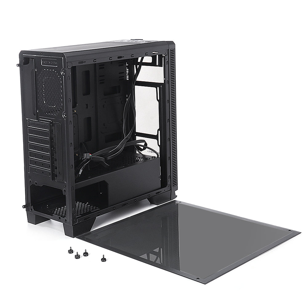 cozyrex,Segotep halo7 plus USB3.0 Gaming Tempered Computer Case PC ATX M-ATX ITX Mid Tower Desktop Chassis,CozyRex,