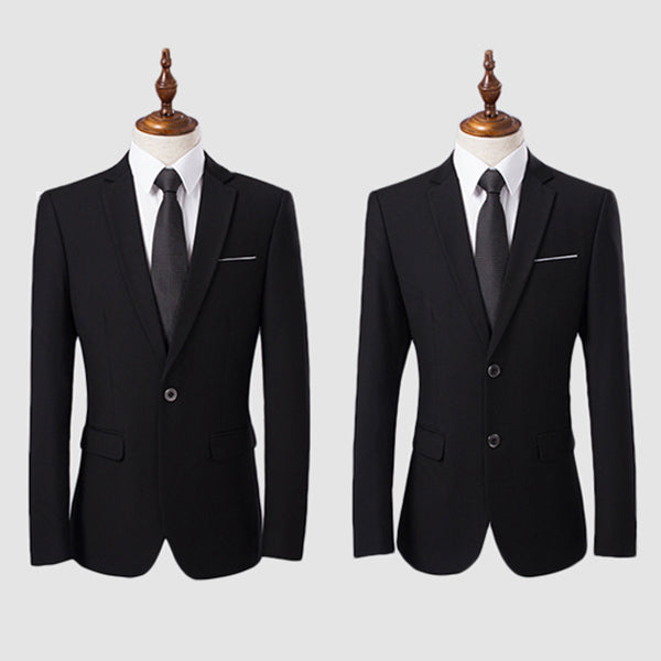 Two Pieces Wedding Business Dress Blazer Suit&Pants
