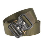 cozyrex,125cm AWMN S05-1 3.8cm Tactical Belt Quick Release Buckle  Outdoor Hunting Camping Adjustable Nylon Belts,CozyRex,