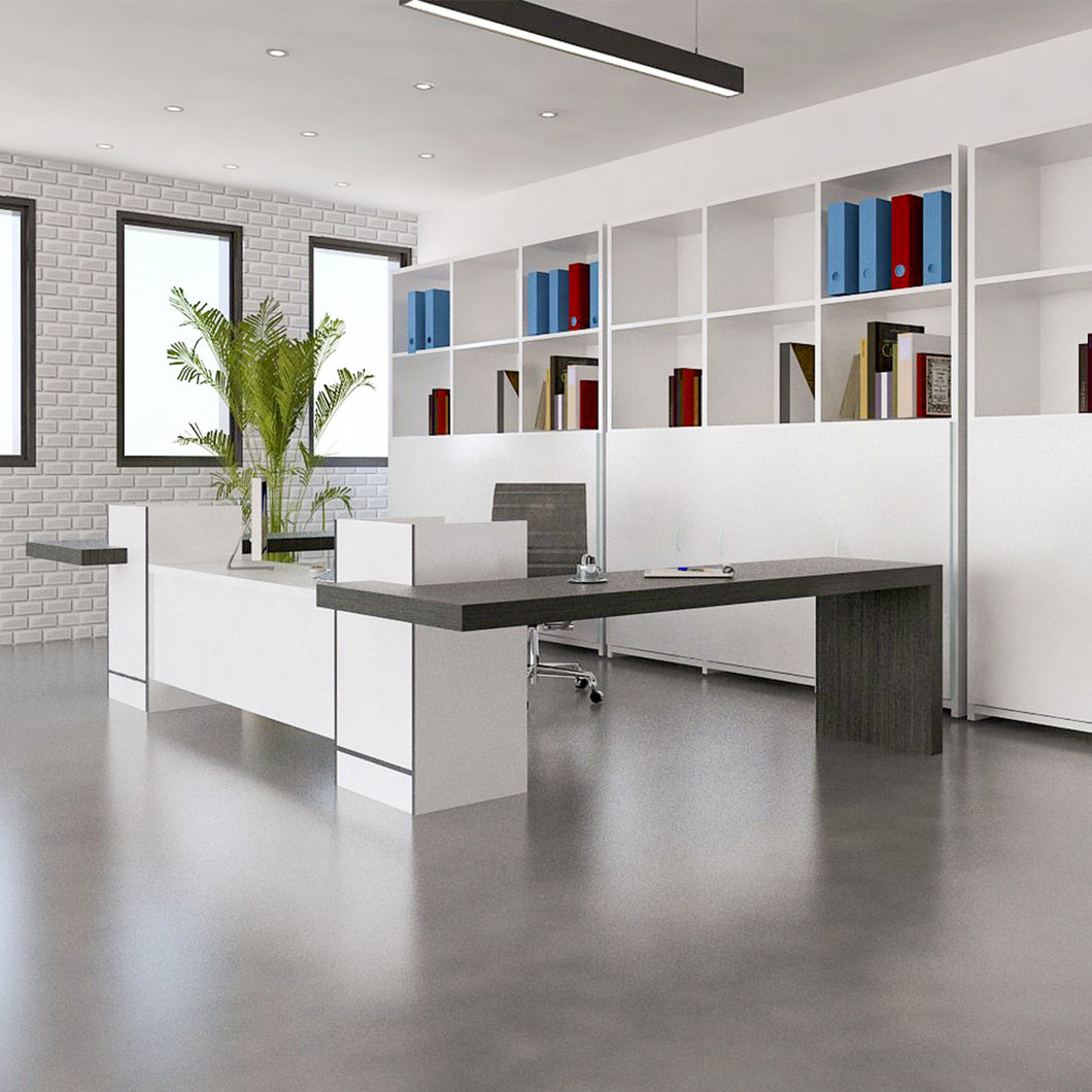 Modern work station reception desk
