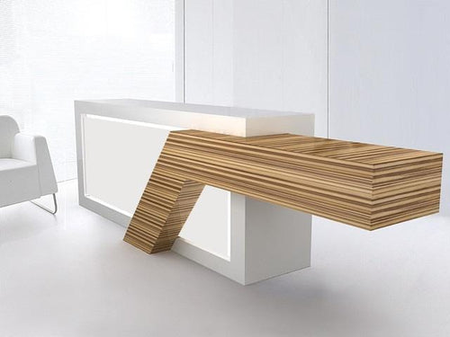 Quad Tech Class 1 Reception Desk