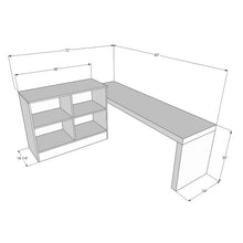 Zepher Reception Desk Workstation