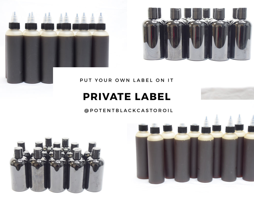 Private Label: Jamaican Black Castor
