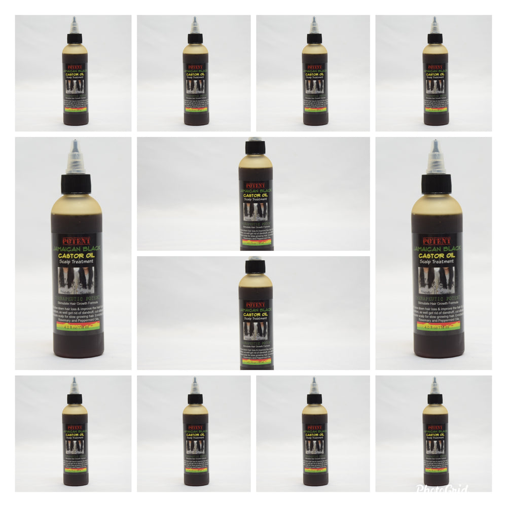 Wholesale: Jamaican Black Castor Oil Therapeutic Potent (12 in a case)