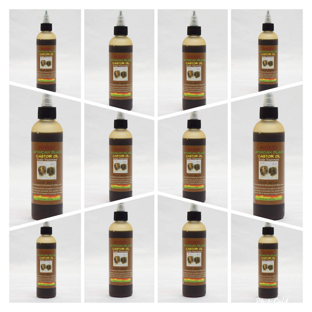 Wholesale: Jamaican Black Castor Oil Super Potent (12 in a case)