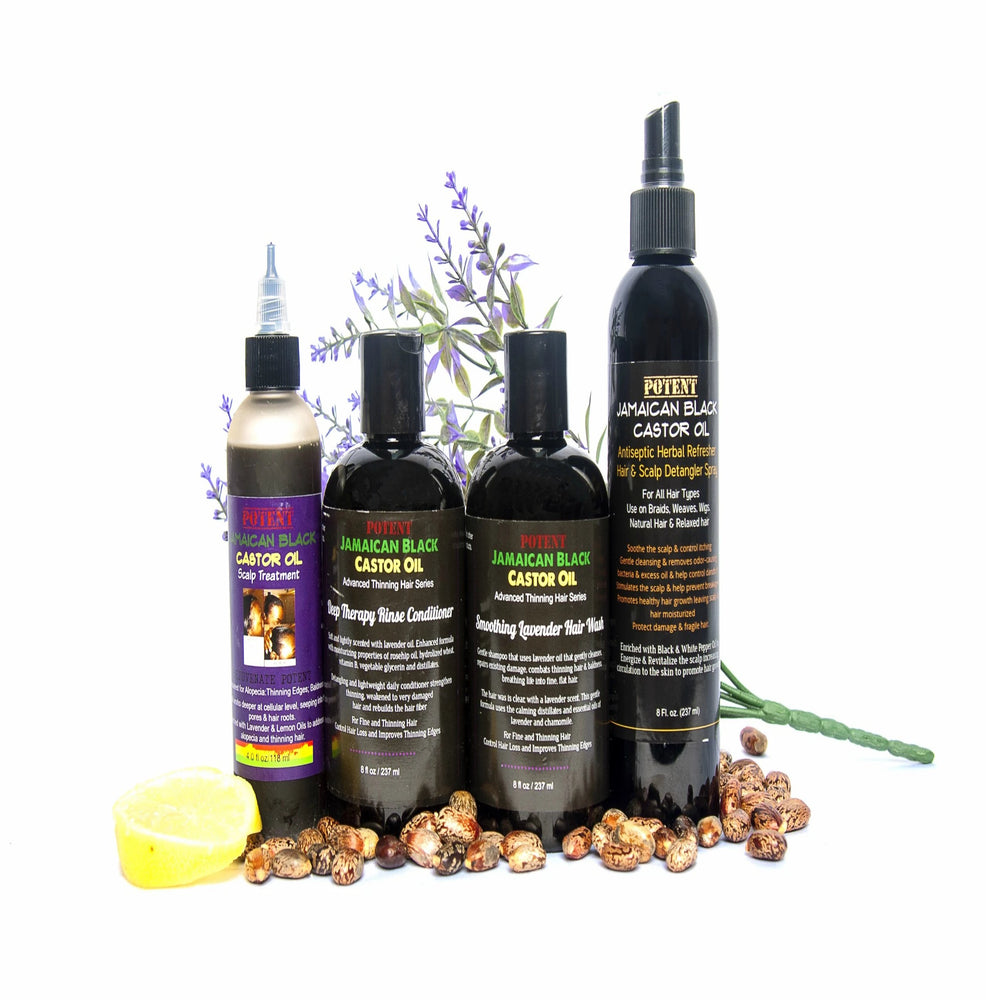 Jamaican Black Castor Oil Hair Kit