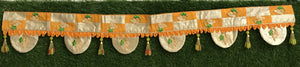 Orange Traditional Toran Bandanwar