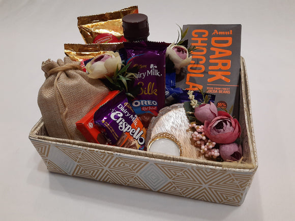Contemporary Chocolate Hamper