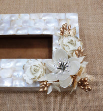 Load image into Gallery viewer, Gorgeous Mother of Pearl Tissue Box Holder