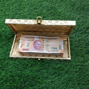 Golden Cash Box- Pack of 3