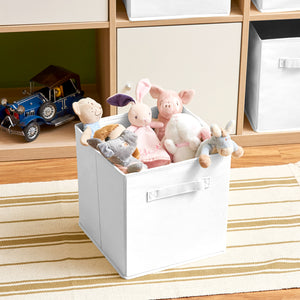 Collapsible Storage Cube -White