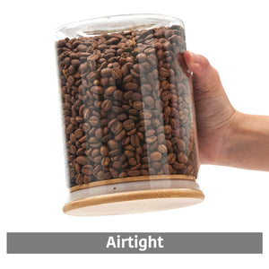 Air Tight Glass Jars Set of 6 - 900ml / 1400ml