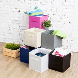 Collapsible Storage Cube - Gray