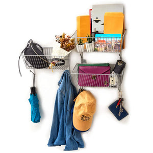 3-Tier Wall Mount Hanging Storage Organizer