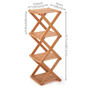 Foldable Beechwood Rack