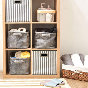 Plush Fabric Storage Bins