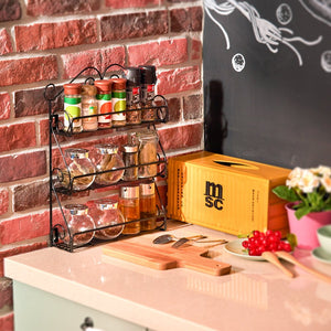3-Tier Wall Mountable Rack