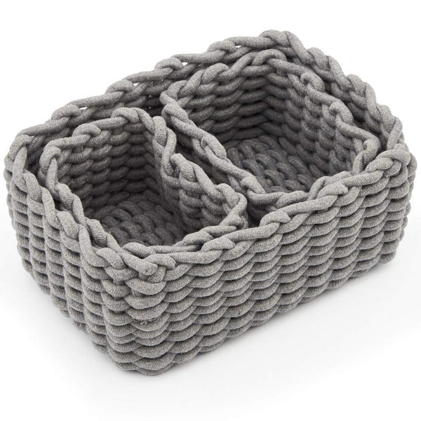 Cotton Rope Basket Set