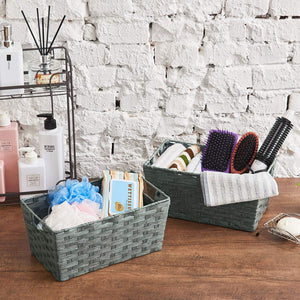 Paper Rope Woven Baskets