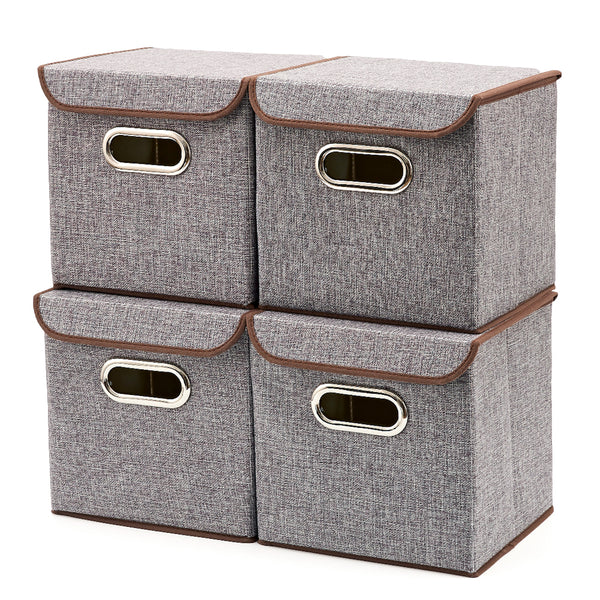 Cubes Storage Bins with Lid