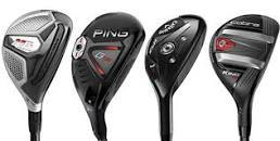 Various Golf Hybrids / Rescue Clubs