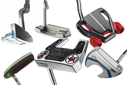 Various Golf Putters