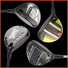 Various Golf Fairway Woods