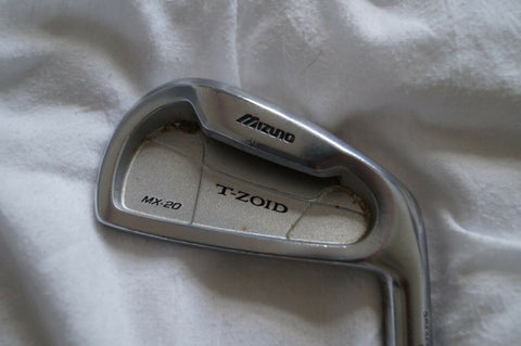 MIZUNO MX-20 T-ZOID 4 IRON - STEEL SHAFT - FREE POSTAGE - Golfdealers.co.uk