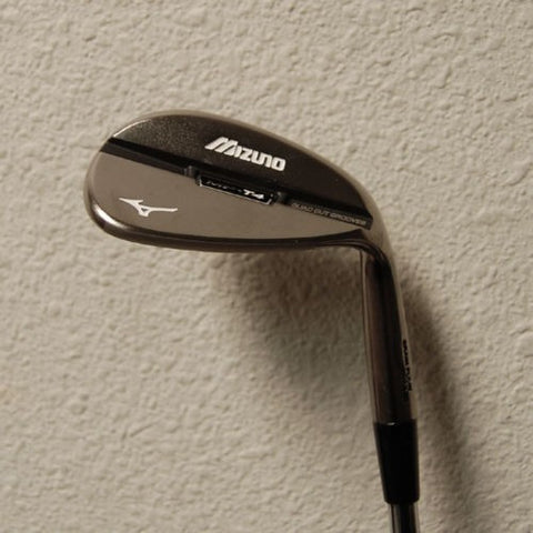 MIZUNO MP-T4 54 DEG SAND WEDGE WITH 9 DEG BOUNCE BLACK NICKEL - EX DEMONSTRATION NSTRATION CLUB - Golfdealers.co.uk