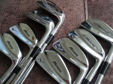MIZUNO MP-69 IRONS 3-PW - PROJECT X SHAFTS - FREE SHIPPING TO UK - Golfdealers.co.uk