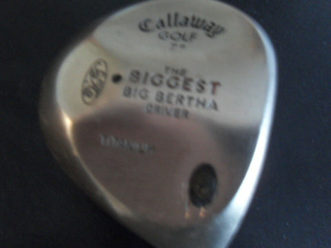 CALLAWAY BIG BERTHA DRIVER - ORIGINAL - Golfdealers.co.uk