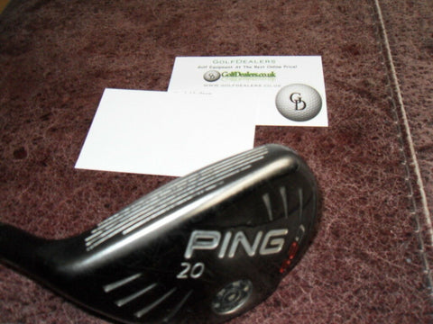 PING G25 RESCUE / HYBRID 20 DEG LEFT HAND STIFF SHAFT - PRE OWNED GOLF CLUB - Golfdealers.co.uk