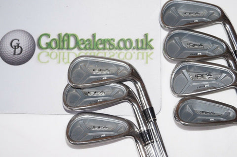 ADAMS IDEA TECH A4R IRONS - 5-PW+GW - REGULAR STEEL SHAFTS - WINN+ GRIPS - Golfdealers.co.uk